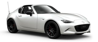 2021 Mazda MX-5 ND GT RF SKYACTIV-MT RS Snowflake White Pearl 6 Speed Manual Targa.