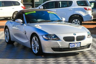 2007 BMW Z4 E85 MY07 Steptronic Silver 6 Speed Sports Automatic Roadster.