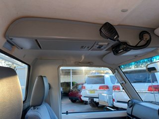 2012 Toyota Landcruiser VDJ79R MY10 GXL French Vanilla 5 Speed Manual Cab Chassis