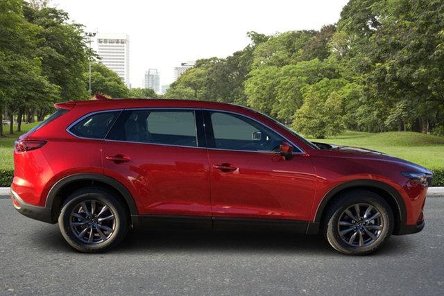 Demo Mazda CX-9 TC Touring SKYACTIV-Drive Paradise, 2021 Mazda CX-9 TC Touring SKYACTIV-Drive Soul Red 6 Speed Sports Automatic Wagon