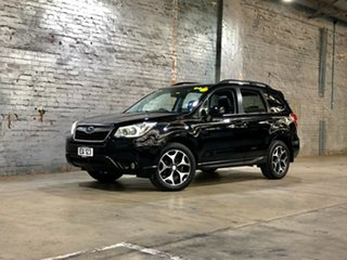 2013 Subaru Forester S4 MY14 2.5i-S Lineartronic AWD Black 6 Speed Constant Variable Wagon.