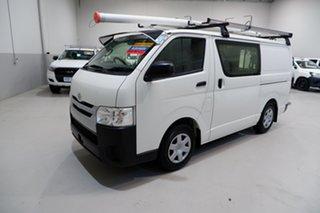 2017 Toyota HiAce TRH201R LWB White 6 Speed Automatic Van