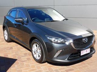 2016 Mazda CX-3 DK2W76 Maxx SKYACTIV-MT Dark Grey 6 Speed Manual Wagon.