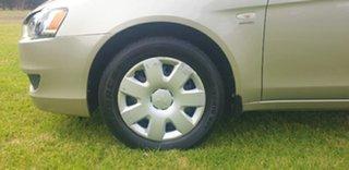 2010 Mitsubishi Lancer CJ MY10 ES Sportback Gold 6 Speed Constant Variable Hatchback