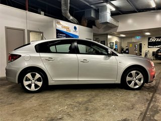 2014 Holden Cruze JH Series II MY14 Equipe Metallic Silver 5 Speed Manual Hatchback.