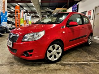 2009 Holden Barina TK MY09 Red 4 Speed Automatic Hatchback.