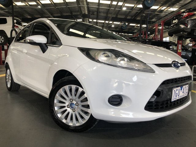 Pre-Owned Ford Fiesta WT LX PwrShift Oakleigh, 2011 Ford Fiesta WT LX PwrShift 6 Speed Sports Automatic Dual Clutch Hatchback