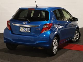 2015 Toyota Yaris NCP131R SX Blue 4 Speed Automatic Hatchback