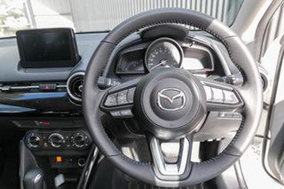 2021 Mazda 2 DL2SAA G15 SKYACTIV-Drive Pure Snowflake White Pearl 6 Speed Sports Automatic Sedan