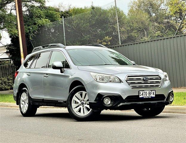 Used Subaru Outback B6A MY15 2.0D CVT AWD Hyde Park, 2015 Subaru Outback B6A MY15 2.0D CVT AWD Silver 7 Speed Constant Variable Wagon