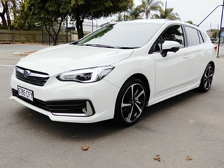2020 Subaru Impreza G5 MY20 2.0i-S CVT AWD White 7 Speed Constant Variable Hatchback.