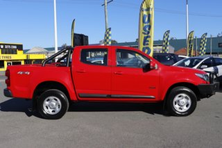 2017 Holden Colorado RG MY18 LS Pickup Crew Cab Absolute Red 6 Speed Sports Automatic Utility