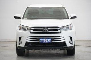2017 Toyota Kluger GSU50R GXL 2WD White 8 Speed Sports Automatic Wagon.