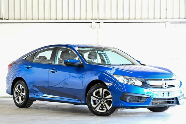 Used Honda Civic 10th Gen MY16 VTi Laverton North, 2017 Honda Civic 10th Gen MY16 VTi Blue 1 Speed Constant Variable Sedan