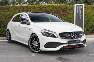 2017 Mercedes-Benz A-Class W176 807MY A250 D-CT 4MATIC Sport Cirrus White 7 Speed.