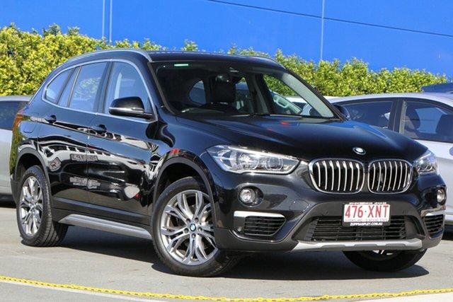 Used BMW X1 F48 sDrive18d Steptronic Aspley, 2017 BMW X1 F48 sDrive18d Steptronic Black 8 Speed Sports Automatic Wagon