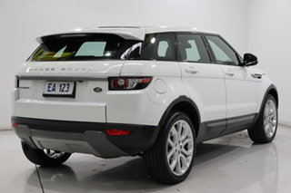 2015 Land Rover Range Rover Evoque L538 MY15 TD4 Pure Tech White 9 Speed Sports Automatic Wagon