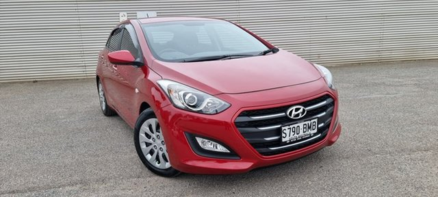 Used Hyundai i30 GD4 Series II MY17 Active Elizabeth, 2016 Hyundai i30 GD4 Series II MY17 Active Red 6 Speed Sports Automatic Hatchback