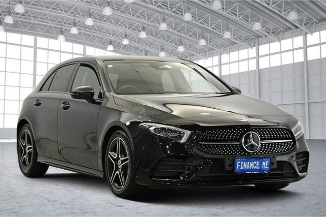 Used Mercedes-Benz A-Class W177 A180 DCT Victoria Park, 2019 Mercedes-Benz A-Class W177 A180 DCT Black 7 Speed Sports Automatic Dual Clutch Hatchback