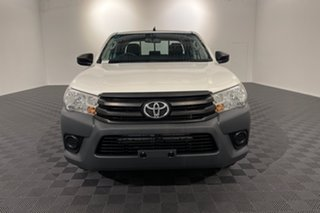 2015 Toyota Hilux TGN121R Workmate Double Cab 4x2 Glacier 6 speed Automatic Utility.