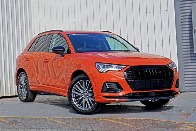 Used Audi Q3 F3 MY20 35 TFSI S Tronic Launch Edition Springwood, 2019 Audi Q3 F3 MY20 35 TFSI S Tronic Launch Edition Orange 6 Speed Sports Automatic Dual Clutch