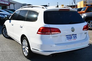 2011 Volkswagen Passat Type 3C MY11 125TDI DSG Highline White 6 Speed Sports Automatic Dual Clutch.