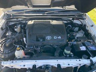 2013 Toyota Hilux KUN16R MY14 SR White 5 Speed Manual Dual Cab Pick-up