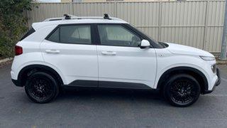 2019 Hyundai Venue QX MY20 Go White 6 Speed Manual Wagon.