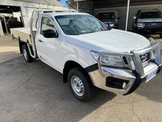 2016 Nissan Navara D23 DX White 6 Speed Manual Cab Chassis.