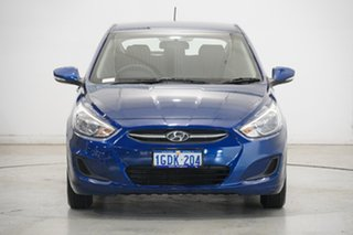2016 Hyundai Accent RB3 MY16 Active Blue 6 Speed Constant Variable Hatchback.