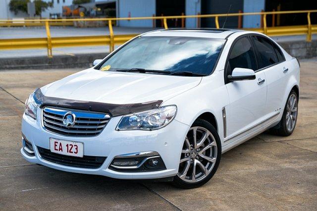 Used Holden Calais VF II MY17 V Hendra, 2017 Holden Calais VF II MY17 V White 6 Speed Sports Automatic Sedan