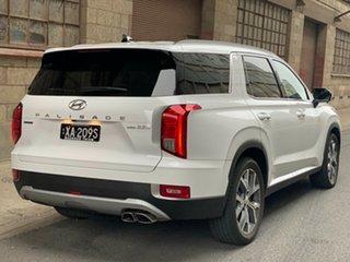 2021 Hyundai Palisade LX2.V1 MY21 Highlander AWD White Cream 8 Speed Automatic Wagon.