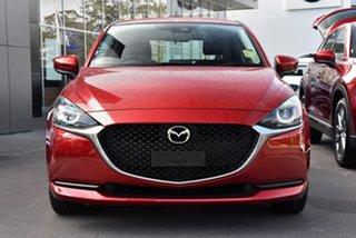 2021 Mazda 2 DJ2HAA G15 SKYACTIV-Drive Pure Red 6 Speed Sports Automatic Hatchback.