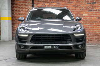 2015 Porsche Macan 95B MY15 S PDK AWD Diesel Agate Grey 7 Speed Sports Automatic Dual Clutch Wagon.