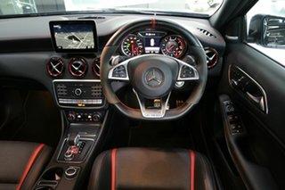 2017 Mercedes-Benz A-Class W176 808MY A45 AMG SPEEDSHIFT DCT 4MATIC Black 7 Speed