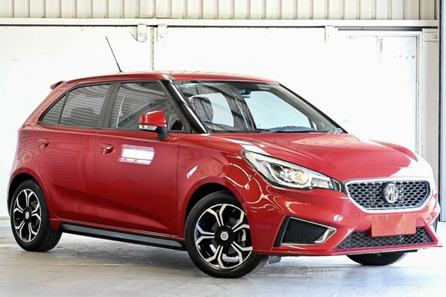 Used MG MG3 SZP1 MY18 Excite Laverton North, 2018 MG MG3 SZP1 MY18 Excite Red 4 Speed Automatic Hatchback
