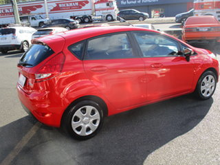 2012 Ford Fiesta WT CL Red 6 Speed Automatic Hatchback.