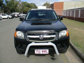 2009 Holden Colorado RC MY09 LX Crew Cab Black 5 Speed Manual Cab Chassis.