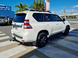 2015 Toyota Landcruiser Prado KDJ150R MY15 Altitude (4x4) Crystal Pearl 5 Speed Sequential Auto