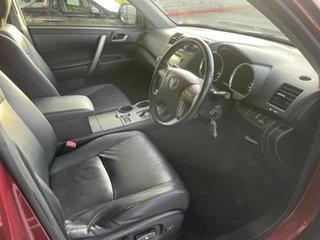 2009 Toyota Kluger GSU45R KX-S (4x4) Red 5 Speed Automatic Wagon
