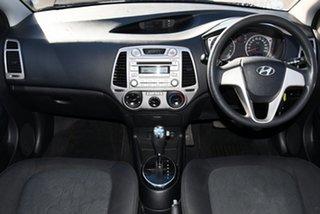 2011 Hyundai i20 PB MY12 Active White 4 Speed Automatic Hatchback