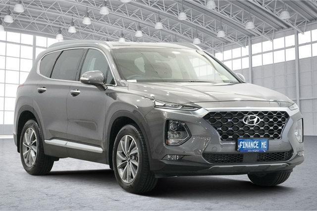 Used Hyundai Santa Fe TM.2 MY20 Elite Victoria Park, 2019 Hyundai Santa Fe TM.2 MY20 Elite Magnetic Force 8 Speed Sports Automatic Wagon