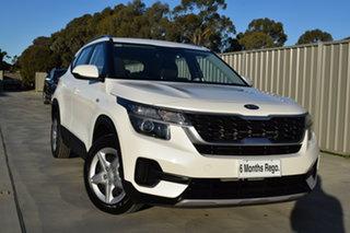 2019 Kia Seltos SP2 MY20 S 2WD Snow White Pearl 1 Speed Constant Variable Wagon.
