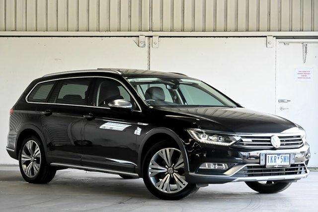 Used Volkswagen Passat 3C (B8) MY17 140TDI DSG 4MOTION Alltrack Laverton North, 2017 Volkswagen Passat 3C (B8) MY17 140TDI DSG 4MOTION Alltrack Black 6 Speed