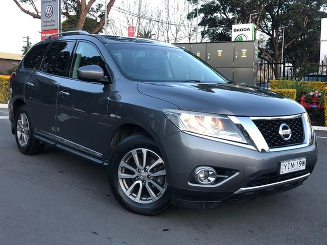 Used Nissan Pathfinder R52 MY15 ST-L X-tronic 2WD Botany, 2015 Nissan Pathfinder R52 MY15 ST-L X-tronic 2WD Grey 1 Speed Constant Variable Wagon