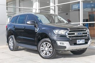 2015 Ford Everest UA Trend Black 6 Speed Sports Automatic SUV.