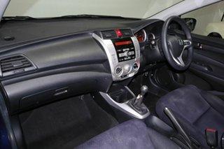 2010 Honda City GM MY10 VTi Blue 5 Speed Manual Sedan