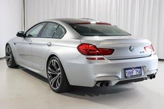 2013 BMW M6 F06M Gran Coupe M-DCT Silver 7 Speed Sports Automatic Dual Clutch Sedan.