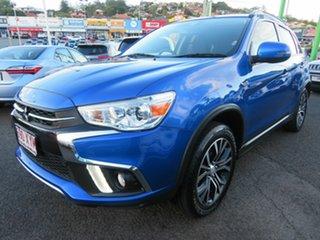 2018 Mitsubishi ASX XC MY18 LS 2WD ADAS Blue 1 Speed Constant Variable Wagon.