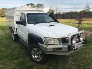 2009 Nissan Patrol GU MY08 ST (4x4) 5 Speed Manual Coil Cab Chassis.